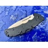 Нож складной Cold Steel Code 4, Spear Point Blade, Black Aluminium Handle