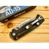 Нож складной Cold Steel AD-15, Black Handle