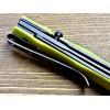 Нож складной CRKT CEO, BlackWash Blade, Bamboo Handle