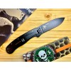 Нож складной Esee Avispa, Black D2 Blade, Coyote