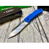 Нож складной Ka-Bar Dozier Folding Hunter, Blue Handle