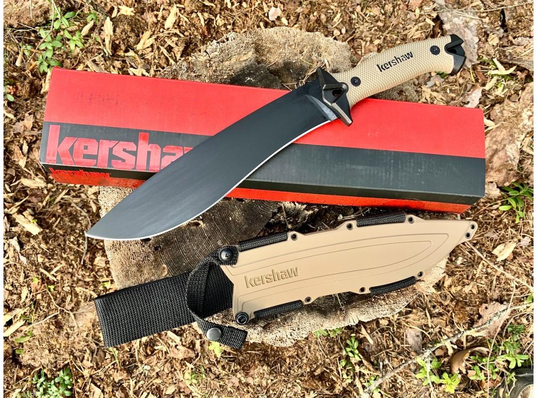 KERSHAW 1077 CAMP 10: обзор туристического ножа