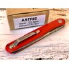Нож складной Mr. Blade ASTRIS, D2 Blade, Red Handle