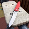 Нож складной Mr. Blade PIKE, D2 Blade, Red Handle