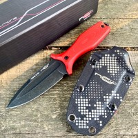 Нож N.C. Custom GRAVE, Red G10 Handle, Limited Edition