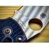 Нож складной Spyderco Manix 2, S110V Blade, Dark Blue Handle