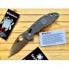Нож складной Spyderco Manix 2, Maxamet Blade