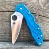 Нож складной Spyderco Delica Blue FRN Handles