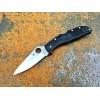Нож складной Spyderco Endela, Black FRN Handle