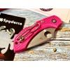 Нож складной Spyderco Dragonfly 2, S30V Blade, Pink Handle