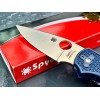 Нож складной Spyderco Native 5, S110 Blade, Blue Handle