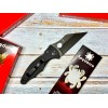 Нож складной Spyderco Yojimbo 2, Black Blade