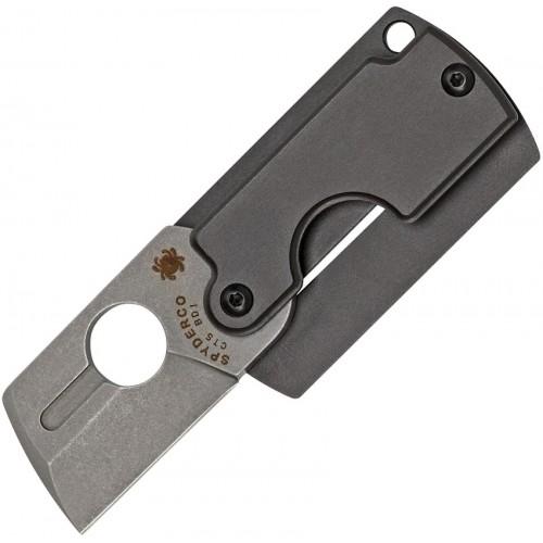Нож складной Spyderco Dog Tag Gen4, CTS BD1 Blade