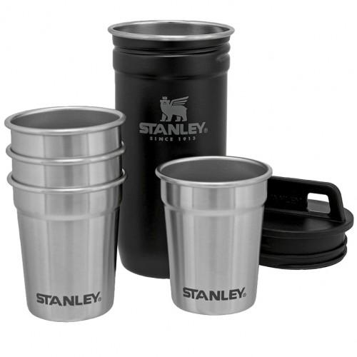 Набор стаканов Stanley Adventure Shot Glass Set Black