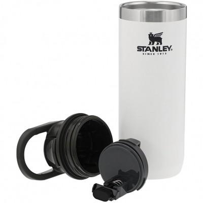 Термокружка Stanley Trigger-Action 0,47L Travel Mug, White