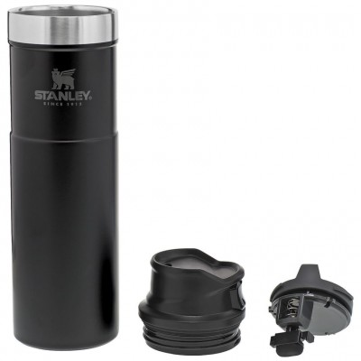 Термокружка Stanley Trigger-Action 0,59L Travel Mug, Black