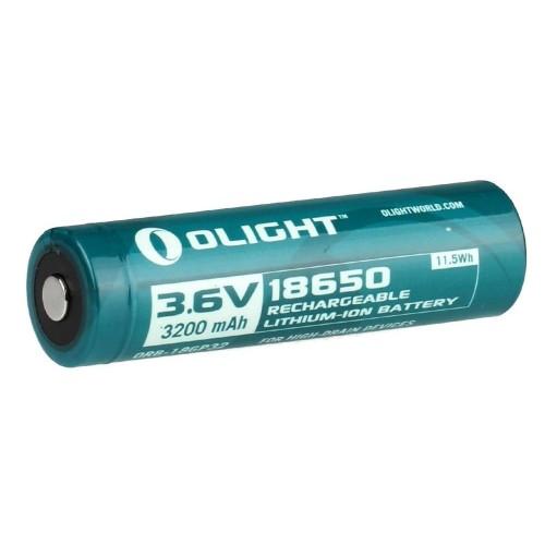 Аккумулятор Li-ion Olight ORB-186P32 18650 3,7 В. 3200 mAh