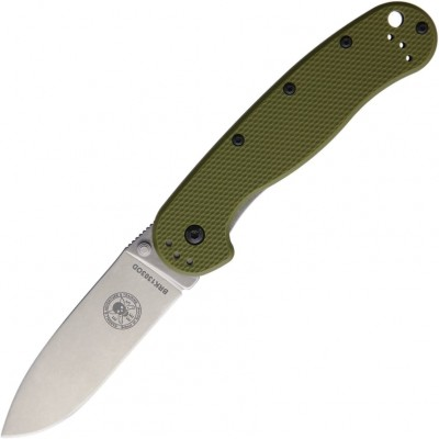 Нож складной Esee BRK1303OD  Avispa, SK-5 Blade, OD Green Black Handle