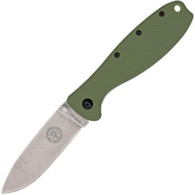 Нож складной Esee Zancudo, D2 Blade, OD Green Handle
