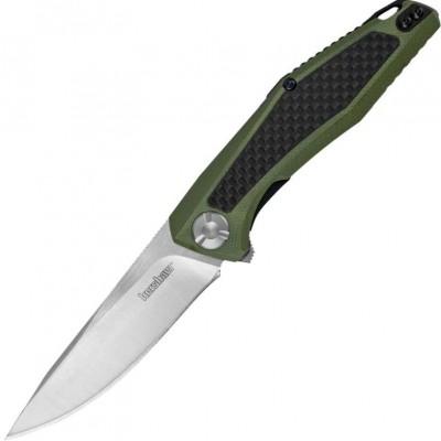 Нож складной Kershaw Atmos, Olive Carbon / G10 Handle