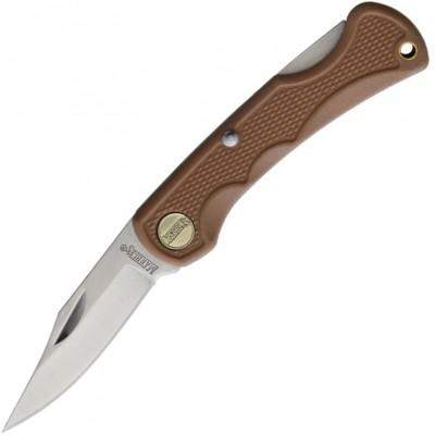 Нож складной Marbles Small Lockback, Tan Handle