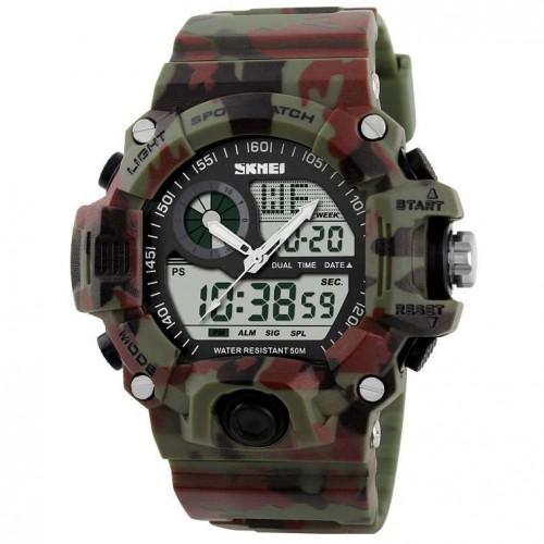 Часы противоударные SKMEI 1029 Green Camo