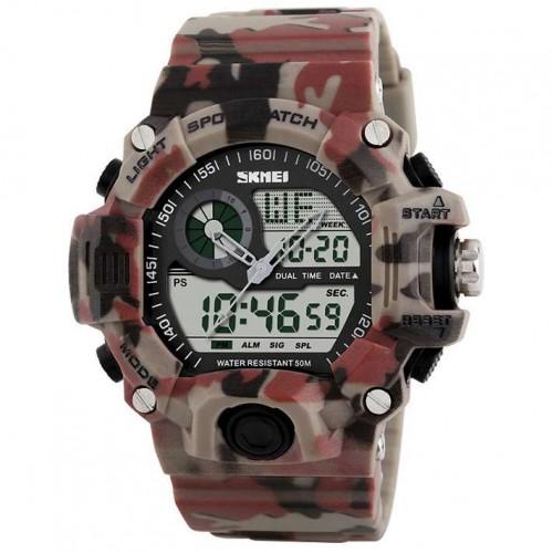 Часы противоударные SKMEI 1029 Red Camo