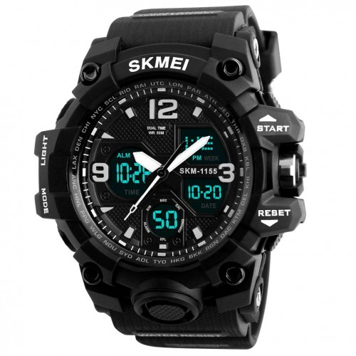 Часы противоударные SKMEI 1155 Black