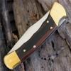 Нож складной Buck 110 Folding Hunter, Finger Grooved Woodgrain Handle