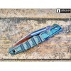 Нож складной Cold Steel Frenzy I, CTS-XHP Blade, Green/Black G10 Handles