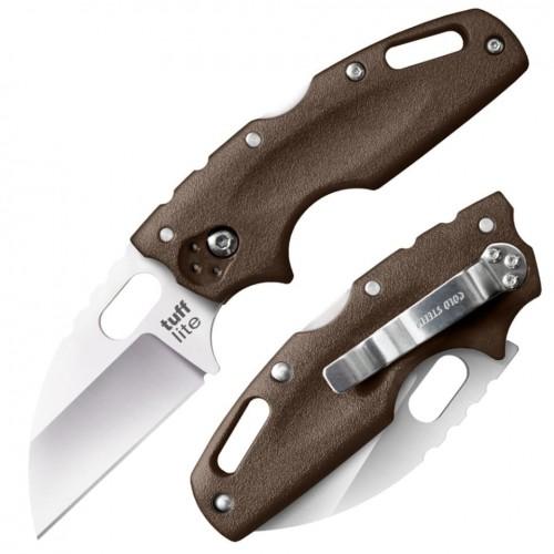 Нож складной Cold Steel Tuff Lite, Dark Earth Handle