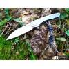Нож складной CRKT Jettison, StoneWash Blade, Stainless Steel Handle