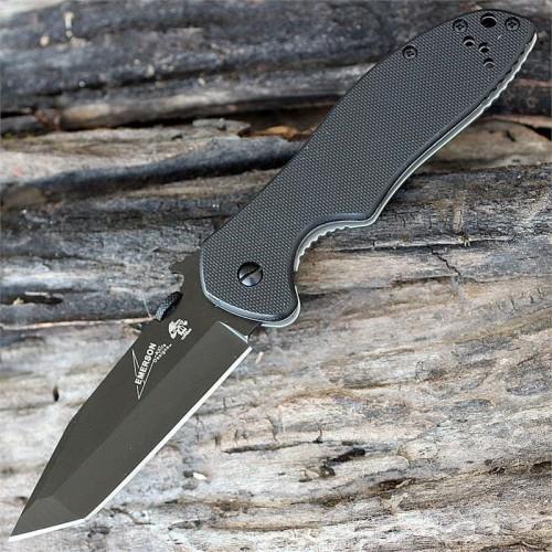 Нож складной Kershaw 6034 Tanto Emerson CQC-7K, Black Blade