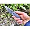 Нож складной Kershaw Link, Damascus Blade, Gray Aluminum Handles