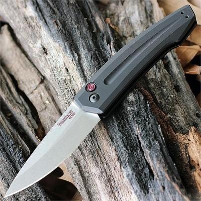 Нож складной Kershaw Launch 2 Automatic CPM154 Stonewashed Blade, Anodized Aluminum Handle