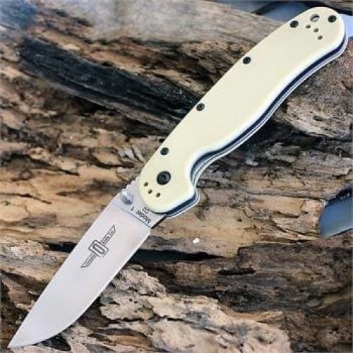 Нож складной Ontario Rat 1 Folder, D2 Blade, Desert Tan Handle