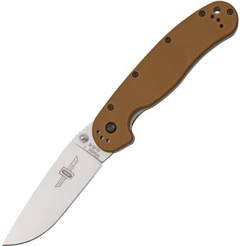 Нож складной Ontario Rat I Folder Coyote Brown