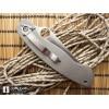 Нож складной Spyderco Military Titanium , Reeve Integral Lock, S30V