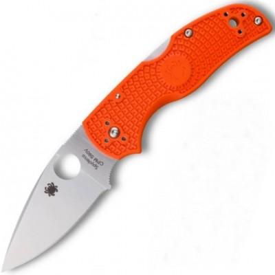 Нож складной Spyderco Native 5, CPM-S90V Blade, Orange FRN Handle