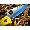 Нож складной Spyderco Salt 1, Yellow Handle