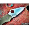 Нож складной Spyderco Dragonfly, Foliage Green G-10 Handle