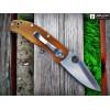 Нож складной Spyderco Tenacious, Brown G-10 Handle