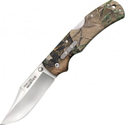 Нож складной Cold Steel Double Safe Hunter, Camo Handle