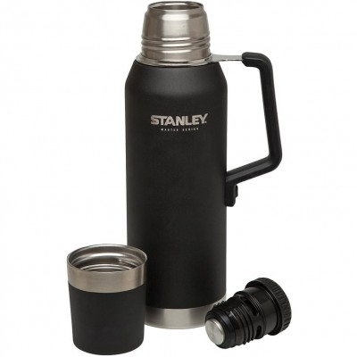 Термос Stanley Master Vacuum Bottle 1.3L, Black