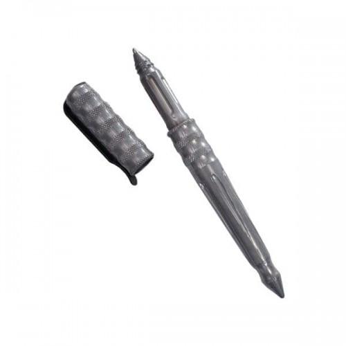Ручка тактическая Benchmade Tactical Pen, Damasteel Body, Blue Ink